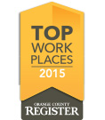 The OC Register's 'The #1 Top Workplace in Orange County'!