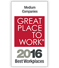 Great Place to Work® Best Medium Workplaces in Fortune Magazine